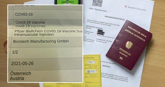 Wegen einer Formalie bekommt eine Wienerin vorerst keinen Grünen Pass