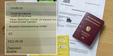 Wienerin bekommt trotz Impfung keinen Grünen Pass