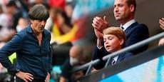 Prinz George jubelte Jogi Löw aus dem Stadion