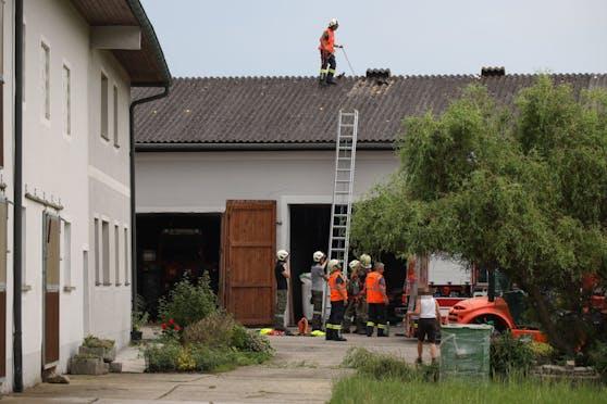 Hier war der 51-Jährige vom Dach gestürzt.