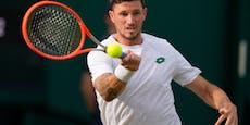 Dennis Novak scheitert in Wimbledon anSteve Johnson