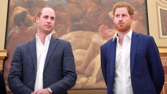 Zwischen Harry und William herrscht Eiszeit.