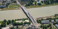 An diesem Tag soll die Eisenbahnbrücke eröffnet werden