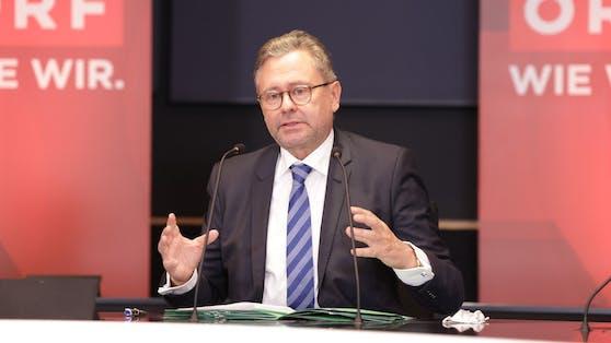 Mit Jahresende läuft der Vertrag von ORF-Chef Alexander Wrabetz aus.