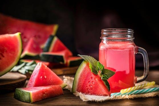 Trinken und Essen in einem: Wassermelone.