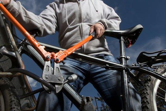 Die Diebe zwickten die Fahrradschlösser auf.
