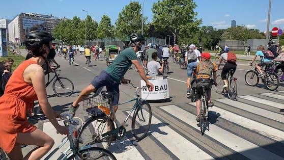 Rad-Demo gegen Lobautunnel am Donnerstag in Wien