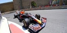 Red Bull dominiert in Baku, Mercedes gibt Rätsel auf