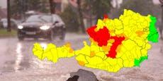 Schwere Hagel-Unwetter nähern sich Wien