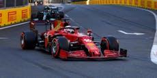 Leclerc holt Baku-Pole, Red Bull schwer geschlagen