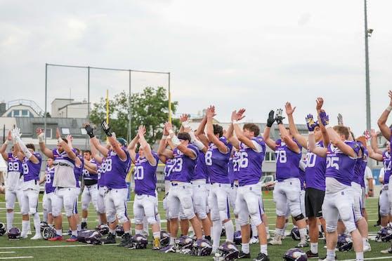 Die Vienna Vikings gewinnen die Charity Bowl XXII.