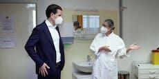 "Kurz: ""Freue mich über Corona-Impfung mit AstraZeneca"""