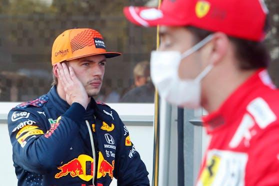 Max Verstappen ärgerte sich nach der vierten roten Flagge im Qualifying.