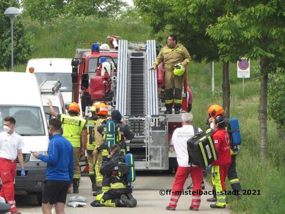 Wohnungsbrand in Mistelbach