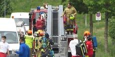 Ein Toter und drei verletzte Florianis bei Brand