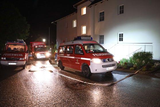 Feuerwehreinsatz in Scharnstein