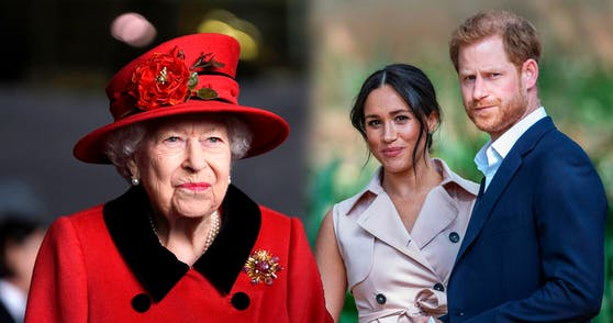 Die Queen stellte Harry und Meghan ein Ultimatum
