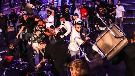 Wilde Fan-Prügelei bei der Box-Gala in Magdeburg