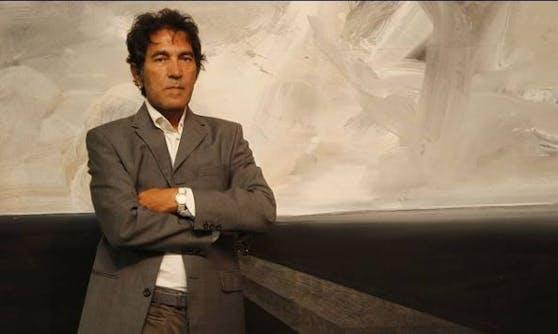 Der italienische Künstler Salvatore Garau
