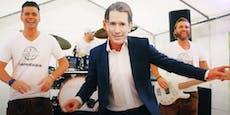 Tanzender Kurz sorgt für viralen Zeltfest-Hit