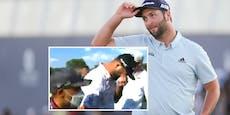 Golf-Star erfährt live im TV von Corona-Infektion