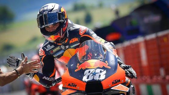 Miguel Oliveira gewann in Barcelona.