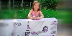Nach Diebstahl: Spenderin schenkt Sofia neuen Roller