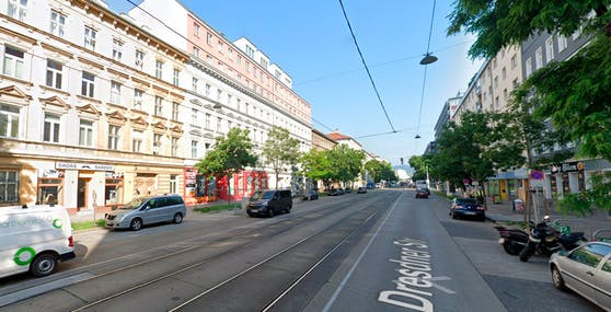 Blick in die Dresdner Straße, Wien-Brigittenau. Symbolbild