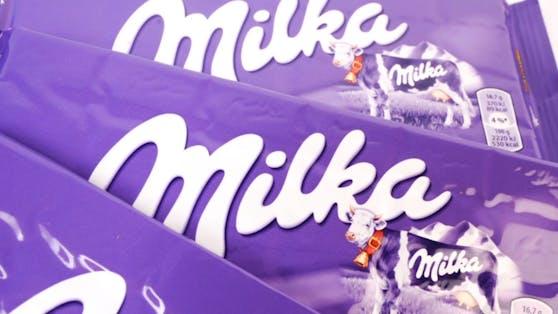 Milka-Tafelschokolade