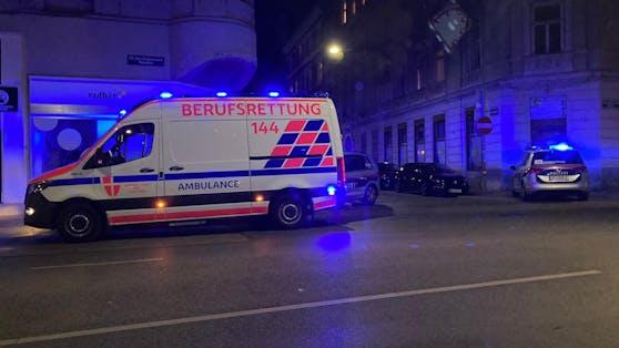 Polizeieinsatz in Wien-Rudolfsheim