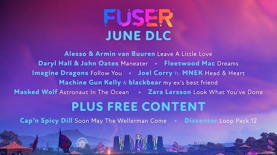 """""""Fuser"""" heizt die Sommerbühne mit dem Juni DLC ein."""