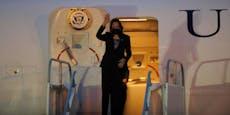 Turbulenzen: US-Vize betet an Bord von Air Force Two