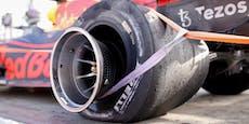 Pirelli erklärt Verstappens Reifenplatzer bei 350 km/h