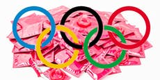 Olympia-Athleten bekommen Kondome erst bei Abreise