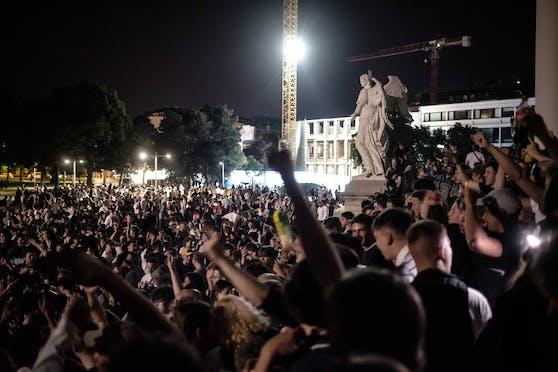 Österreichs Jugend feiert wieder.