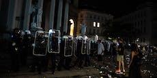 Polizei erklärt, warum Karlsplatz-Sperre notwendig war