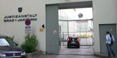Häftling (26) aus Grazer Justizanstalt ausgebrochen