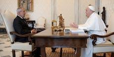 Darum besuchte Van der Bellen Papst ohne Maske