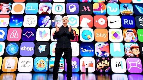 Apple-Chef Tim Cook eröffnet dieEntwicklerkonferenz WWDC