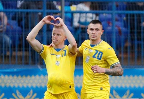 Die Ukraine siegt gegen Zypern