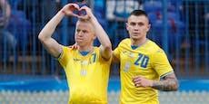 4:0! Ukraine schießt sich für Duell mit Österreich warm