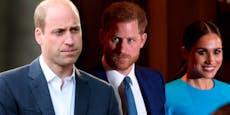 William entzieht Harry und Meghan die royalen Titel