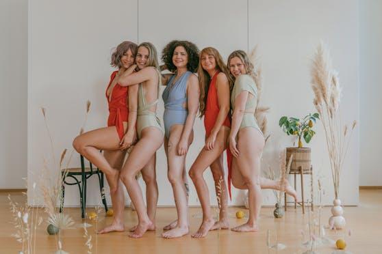 """Egal ob groß, klein, wenig oder viel Busen, kleiner oder großer Hinter: Der """"Sustainable Swimsuit"""" soll jeder Frau passen."""