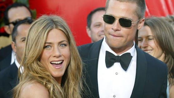 Jennifer Aniston und Prad Pitt