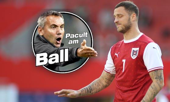 Peter Pacult, Marko Arnautovic