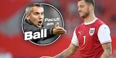 """Pacult: Die """"Arnautovic-Ausrede"""" ist mir zu wenig"""