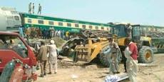 Zugunglück in Pakistan fordert mindestens 40 Tote