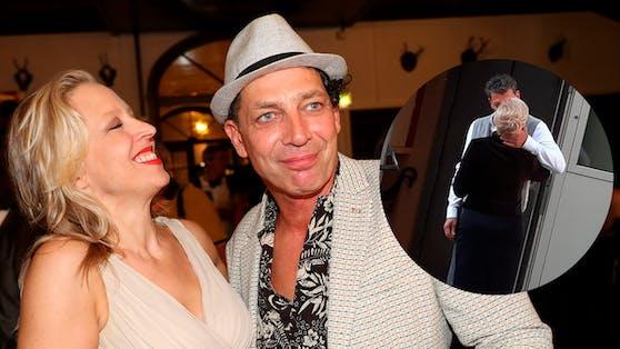 Gregor Bloeb küsst fremd: Bei der Blondine handelt es sich nicht um Ehefrau Nina Proll, sondern um Schauspiel-Kollegin Michou Friesz.