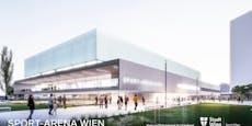 Dusika-Stadion macht Platz für neue Mulitfunktionsarena