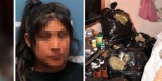 Mutter lässt Tochter sterben, baut derweil Drogen an